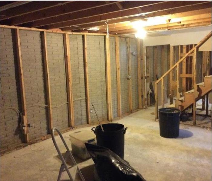 Basement Mold Remediation in Harriman After