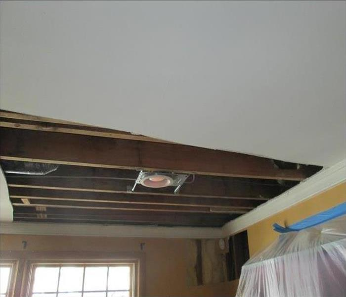 Ceiling Water Damage in Lenoir City After