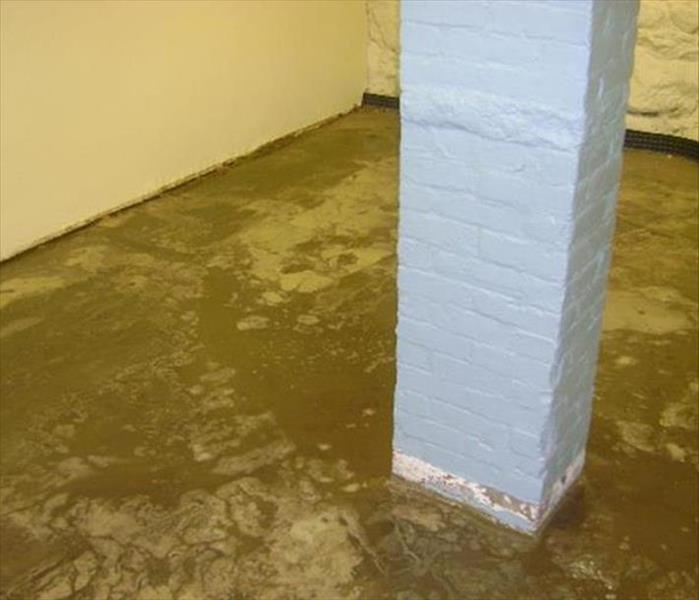 Basement Mud from Stormwater--Lenoir City Before